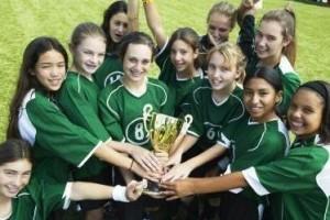 La importancia del deporte en equipo.