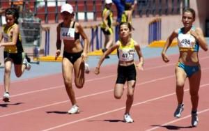 Campeonato de atletismo para escolares