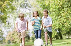 Deporte y felicidad de los niños