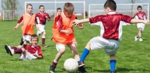 Los niños en el deporte