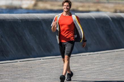 El deporte más sencillo: caminar y andar