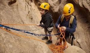 practicar-escalada-con-ninos